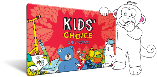 kids choice card